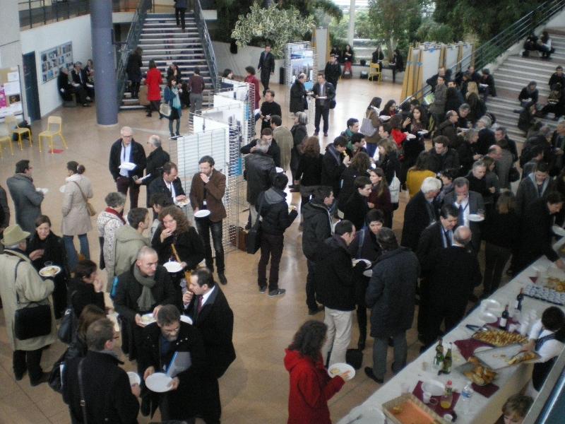 Déjeuner rencontre - à l'UR2 en 2013