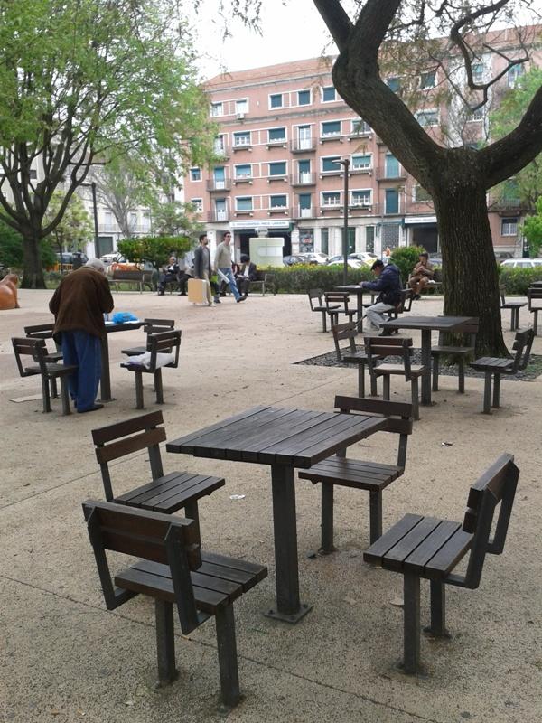 Espace public aménagé