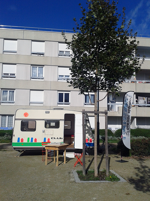 Caravane- Site IAUR