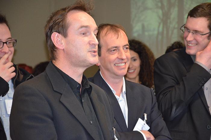 Laurent Montevil et Jean-François Inserguet