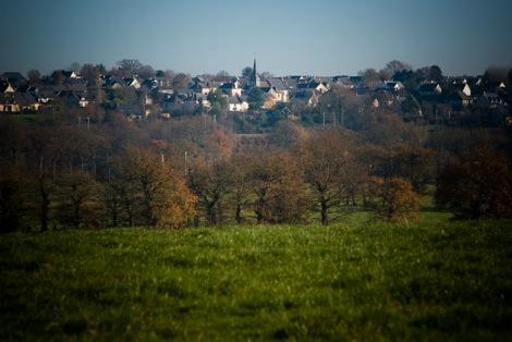 Vue sur la commune Chevaigné Source : http://www.ville-chevaigne.fr/