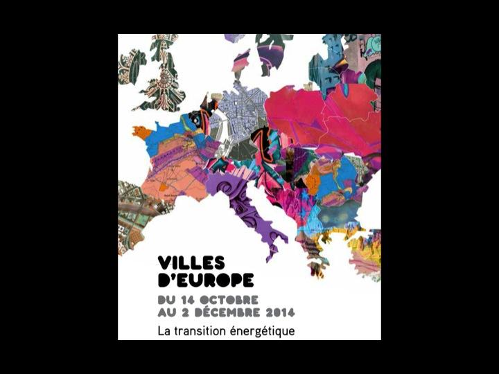 Affiche Cycle Villes d'Europe 2014