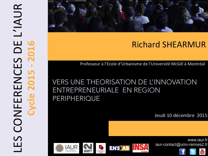 Image R. Shearmur - Conf