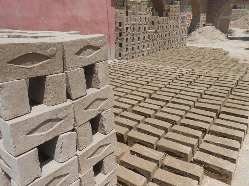 Architecture en terre, Travaux de l'architecte Ashmat Froz, Kaboul, Afghanistan