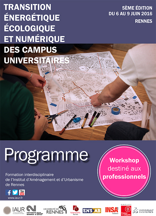 Workshop professionnel éco-campus Programme