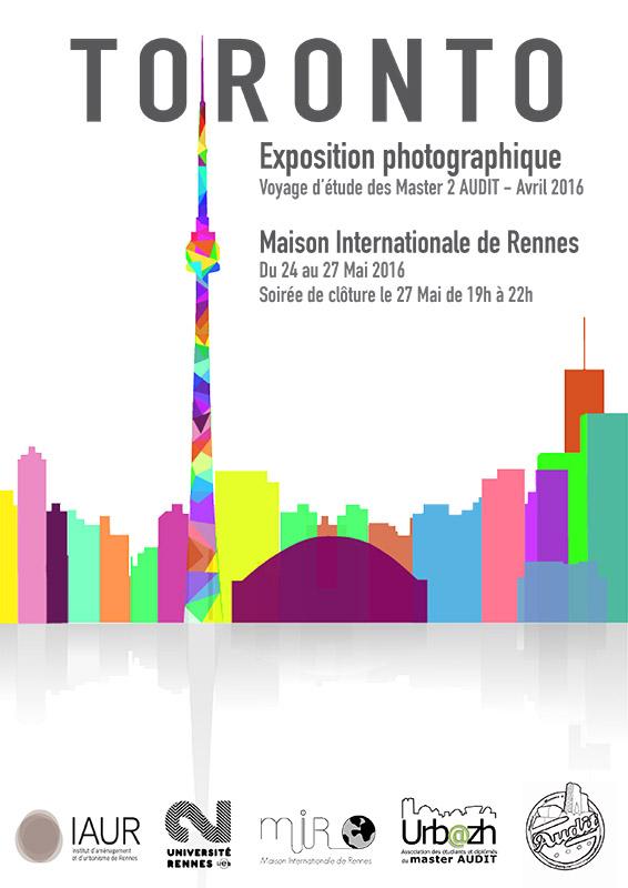 Affiche Exposition Toronto AUDIT IAUR