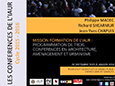 Conférences IAUR_2015-2016