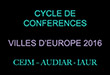 Lettre-Image Cycle Europe