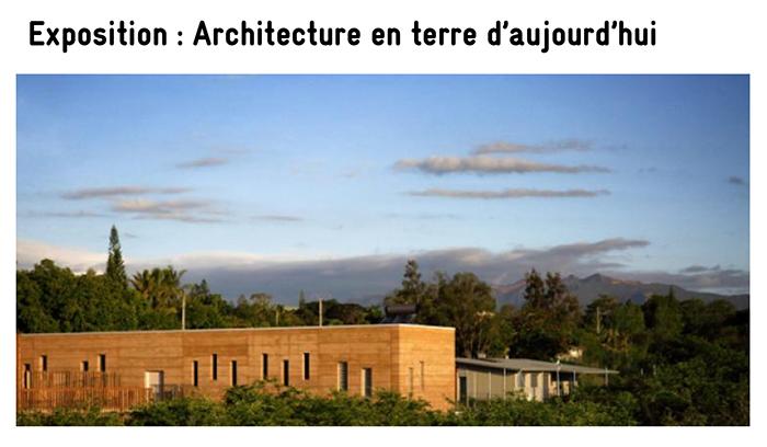 Exposition : Architecture en terre d'aujourd'hui | École Na