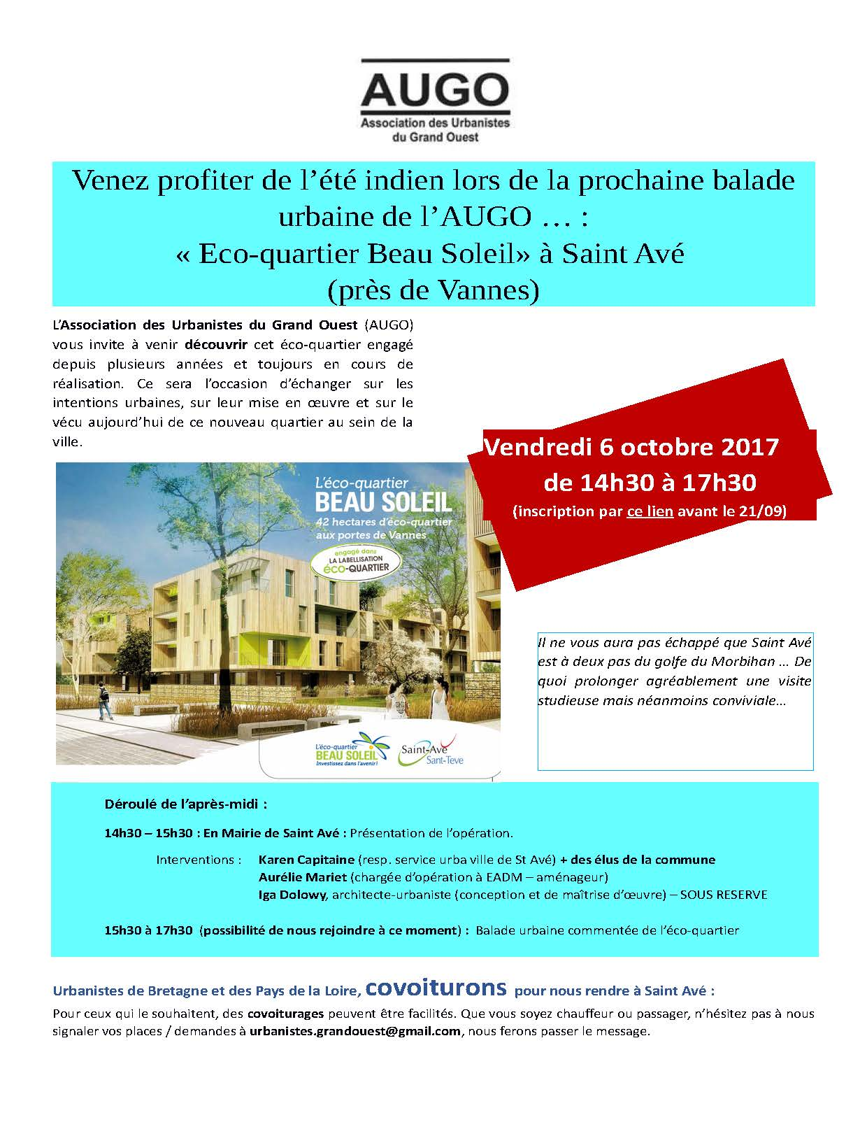 Invitation AUGO Saint Avé_06.10.2017