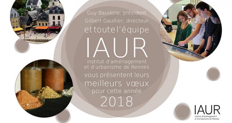 Toute l'équipe de l'IAUR vous souhaite une très bonne année 2018 !