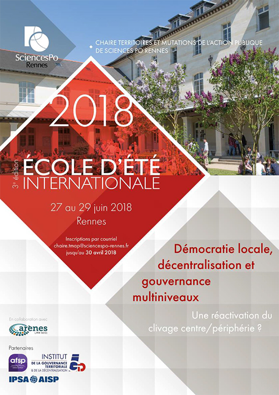 IEPRennes_Ecole d'été internationale2018