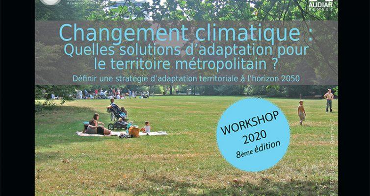 Workshop de l'IAUR – Édition 2020. Changement climatique : quelles solutions d'adaptation pour le territoire métropolitain ?