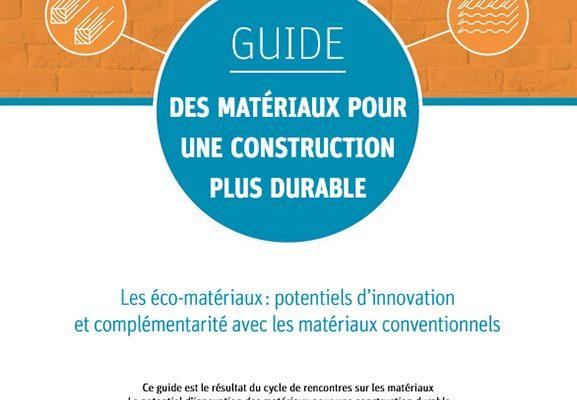 Des matériaux pour une construction plus durable